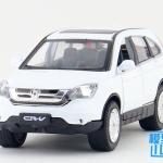 พร้อมส่ง รถโมเดล รถเหล็ก มีไฟมีเสียง Honda CRV 1:32 มี โปรโมชั่น