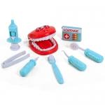 ชุดเครื่องมือหมอฟัน สีฟ้า Dental Clinic...ฟรีค่าจัดส่ง
