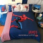 ผ้าปูที่นอน ลายซุปเปอร์ฮีโร่ สไปร์เดอร์แมน Spiderman