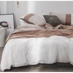 ผ้าปูที่นอนสีพื้น ไล่ระดับเฉดสี โทนสีน้ำตาล