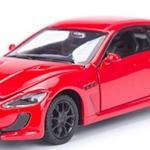 พร้อมส่ง รถโมเดล รถเหล็ก มีไฟมีเสียง Maserati 1:32 มี โปรโมชั่น