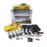 ขาย พรีออเดอร์ โมเดลรถเหล็ก โมเดลรถยนต์ ประกอบ Benz AMG GT เหลือง 1:24 สเกล มี โปรโมชั่น