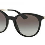 แว่นกันแดด PRADA CINEMA PR17SSF 1AB0A7 Black/Gold Gray Gradient