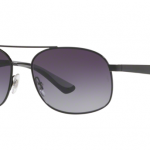 Ray Ban RB3593 002/8G BLACK Gray Gradient