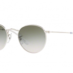 Ray Ban RJ9547S 212/2C Round SILVER Light Brown Gradient Green