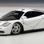 ขาย พรีออเดอร์ โมเดลรถเหล็ก โมเดลรถยนต์ Autoart Mclaren F1 ขาว สเกล 1:43 มี โปรโมชั่น