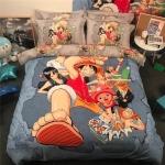 ผ้าปูที่นอน ลายโจรสลัด วันพีช One Piece
