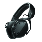V-MODA : Crossfade 2 Wireless (สี MatteBlackMetal)