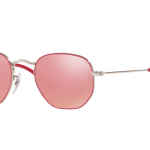 Ray Ban RJ9541SN 263/E4 SILVER TOP FUXIA Pink Flash Copper
