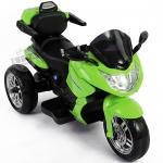 รถแบตมอไซค์ BMW Motorola มีรีโมท+โยกได้ สีเขียว
