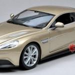 พรีออเดอร์ โมเดลรถเหล็ก โมเดลรถยนต์ Aston Martin Vanquish ทอง 1:24 มี โปรโมชั่น