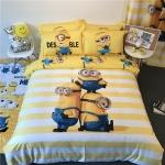 ผ้าปูที่นอน ลายมินเนี่ยน Minions