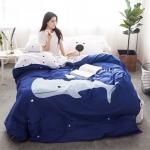 ผ้าปูที่นอน ลายปลาวาฬ Bedding Set