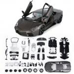 ขาย พรีออเดอร์ โมเดลรถเหล็ก โมเดลรถยนต์ ประกอบ Lamborghini Reventon เทา 1:24 สเกล มี โปรโมชั่น