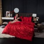 Jacquard highclass bedding ชุดผ้าปูที่นอนแจ็คการ์ด คอตตอนซาติน