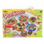 ชุดแป้งโดว์พร้อมอุปกรณ์พิชซ่า..Piza&Pasia