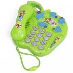 โทรศัพท์ดนตรีคละแบบ..สีเขียว...จัดส่งฟรี