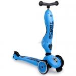 สกู๊ตเตอร์+จักรยานทรงตัว สีเหลืองน้ำเงิน(Scooter+Balance Bike) ฟรีค่าจัดส่ง