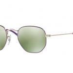 Ray Ban RJ9541SN 262/30 SILVER TOP VIOLET Green Flash Silver