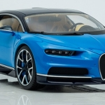 Pre Order โมเดลรถ Bugatti Chiron น้ำเงิน 1:18 รุ่นหายากสุดๆ มีโปรโมชั่น