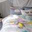 ผ้าปูที่นอนลายก้อนเมฆ สีสันสดใส thumbnail 1