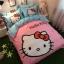 ผ้าปูที่นอน ลายคิตตี้ สีชมพู Kitty Bedding Set thumbnail 1