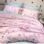 ผ้าปูที่นอน ลายม้ายูนิคอน สีชมพู-เทา หวานๆ thumbnail 4