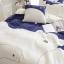 ผ้าปูที่นอนลายหมี สีขาว-น้ำเงิน ลายจุดรูปดาว thumbnail 5