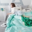 ผ้าปูที่นอน ลายไอติม สีเขียว-เทา thumbnail 3