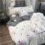 ผ้าปูที่นอน งานปักลายหวใจ ลายสก๊อต thumbnail 1