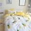 ผ้าปูที่นอนลายสัปปะรด สีเหลือง-ขาว thumbnail 4