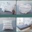 ผ้าปูที่นอนลายตัวหนังสือ ลายสก๊อต สีขาว-ดำ thumbnail 11