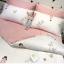 ผ้าปูที่นอน ลายการ์ตูนเด็ก ลายทางสีชมพู-ขาว thumbnail 2