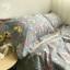 ผ้าปูที่นอนลายดอกไม้ สไตล์วินเทจ thumbnail 1