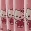 ผ้าม่าน ลายคิตตี้ Kitty งานปัก สีชมพูหวานๆ thumbnail 11