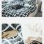 ผ้าปูที่นอน ลายตาราง สีส้ม-ดำ Multivariate thumbnail 4