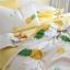ผ้าปูที่นอนลายสัปปะรด สีเหลือง-ขาว thumbnail 5