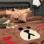 ผ้าปูที่นอน ลายหมีบราวน์ โคนี่ เนื้อผ้าคอตตอนซาติน thumbnail 4