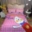 ผ้าปูที่นอนลายกระต่ายน้อย Have Fun ลายตาราง สีแดง-ชมพู thumbnail 1