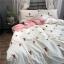 ผ้าปูที่นอน งานปักลายตะบองเพชร ลายสก๊อต thumbnail 2
