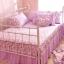 ผ้าปูที่นอนวินเทจ สีม่วง สไตล์เกาหลี เจ้าหญิง thumbnail 8