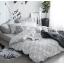 ผ้าปูที่นอน ลายสวยสีขาว-ดำ-เทา ลายกราฟฟิก thumbnail 1