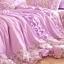ผ้าปูที่นอนวินเทจ สีม่วง สไตล์เกาหลี เจ้าหญิง thumbnail 4
