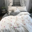 ผ้าปูที่นอน งานปักลายหวใจ ลายสก๊อต thumbnail 4