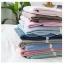 ผ้าปูที่นอน สีพื้น สีน้ำเงินเข้ม เนื้อผ้าถักนิตติ้ง KnittedCotton thumbnail 5