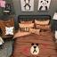 ผ้าปูที่นอน ลายหมีบราวน์ โคนี่ เนื้อผ้าคอตตอนซาติน thumbnail 2
