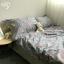 ผ้าปูที่นอนลายดอกไม้ สไตล์วินเทจ thumbnail 2