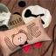 ผ้าปูที่นอน ลายหมีบราวน์ โคนี่ เนื้อผ้าคอตตอนซาติน thumbnail 6