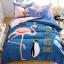ผ้าปูที่นอน ลายนกฟลามิงโก้ Flamingo thumbnail 1