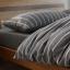 ผ้าปูที่นอน สีพื้น ลายทาง เนื้อผ้าถักนิตติ้ง KnittedCotton thumbnail 1